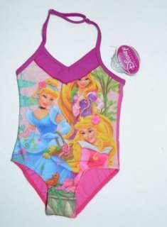 Baby Girls Princess 4 5Y Swimsuit Swimwear Swim Surfing Costume