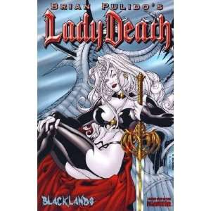 Lady Death : Blacklands 1/2 (Ortiz Cover): Brian Pulido: Books