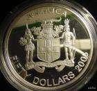BOB MARLEY $50 SILVER GOLD OZ. OUNCE PROOF JAMAICA COIN reggae art