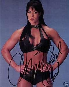 WWF WWE WWWF TNA Chyna China Doll Joanie Laurer signed auto autograph