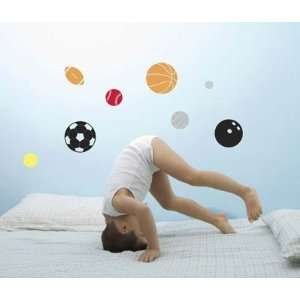 Forwalls Sports Balls Removable Wall Decal Stickers Baby