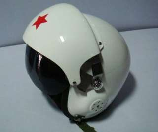 Motorcycle Military Air Force Pilot Helmet Open Face