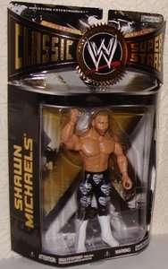 SHAWN MICHAELS WWE WWF JAKKS CLASSIC LAST SERIES 28 WRESTLING ACTION