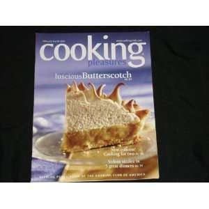 Cooking Pleasures   Feburary/March 2003: Various: Books