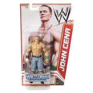 JOHN CENA WWE MATTEL BASIC SERIES 16 WRESTLEMANIA ACTION FIGURE TOY