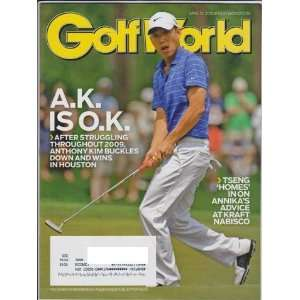 Anthony Kim Buckles Down and Wins in Houston): Geoff Russell: Books