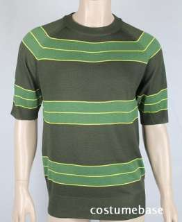 Green Short Sleeve Costume Nirvana Smells Like Teen Spirit
