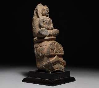 Ancient Indian Gandharan Greek   Buddhist Schist Buddha