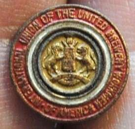 International Union of the United Brewery Workers of America Pin ak05o