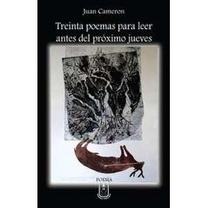 leer antes del próximo jueves (9789977238791) Juan Cameron Books