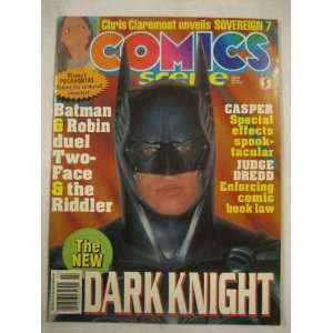 Comics Scene #51 July 1995 Batman Robin Dark Knight Casper Dredd