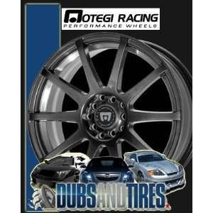 15x7 MOTEGI RACING wheels SP10 Matte Black wheels rims Automotive