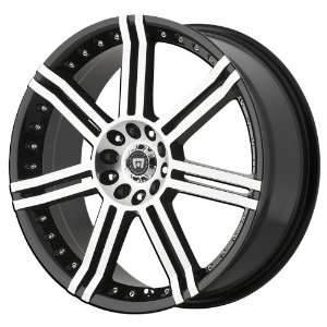 Motegi Racing Series MR105 Gloss Black Machined Wheel (18x7.5/4x100mm