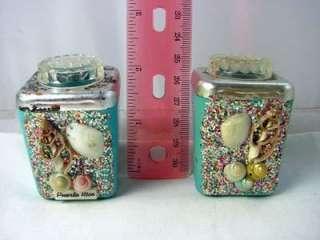 Puerto Rico Souvenir Plastic Salt Pepper Shakers 4072