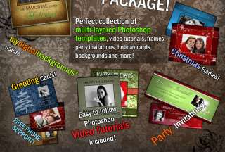 PLATINUM DIGITAL BACKGROUNDS TEMPLATES PHOTO BACKDROPS