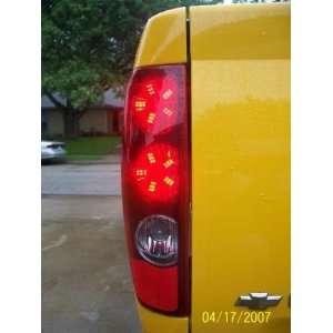 2003 2006 GMC Envoy WHITE LED Spider Brake Lights Bulbs