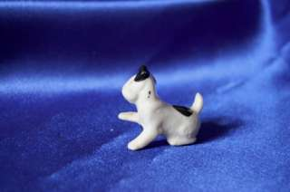 Antique GErmany number Wire fox Terrier doll house dog