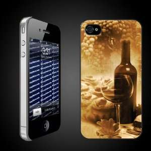 Wine Theme Vintage Wine Photo   iPhone Hard Case   CLEAR