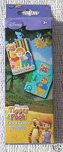Winnie the Pooh & Tigger Card Games