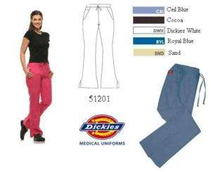 Dickies 51201 Medical Scrubs Classic Flare Bottom Pant