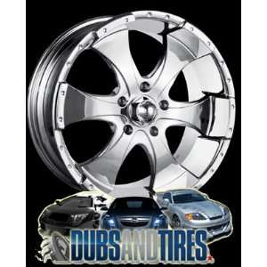 Inch 16x10 Ion Alloy wheels STYLE 136 Chrome wheels rims: Automotive
