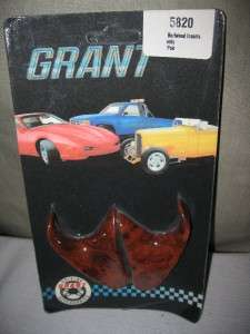 GRANT EVOLUTION STEERING WHEEL INSERTS BURLWOOD 5820