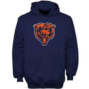 Reebok Chicago Bears Navy Blue Youth Team Logo Hoody
