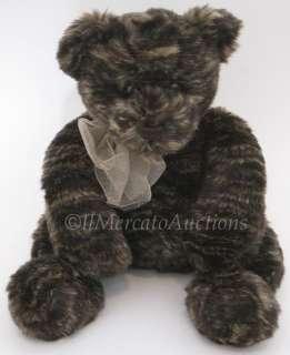 Chocolate Brown 12 TEDDY BEAR Stuffed Animal Toy 6463 Swirl