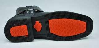 HARLEY DAVIDSON WIDE El Paso Leather Black Boots 94422