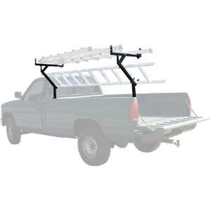 Side Mount Pickup Truck Rack for 3 Ladders & Kayaks