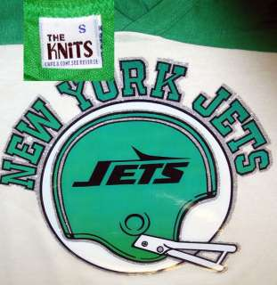 vTg New York Jets NY football Jersey NOS 1970S NFL DS new jersey