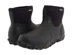 Bogs Classic Short Waterproof Mens Rain Snow Boots Black 71034 All