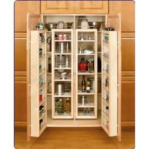 Rev A Shelf 57inch H Swing Out Pantry Door Unit With Hardware, Single