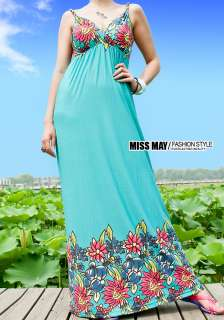 New Lady Strapless women Long Bohemia Maxi Dress 1