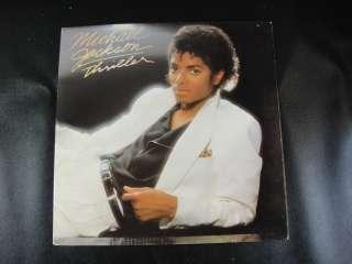 Michael Jackson Thriller QE 38112 LP