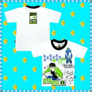 BEN 10 ULTIMATE ALIEN T shirt age 3 4 4 5 6 7 8 9 9 10 11 12 years