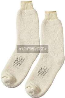 Khaki US Navy Wool Ski Socks Pair