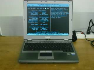 Dell Latitude D400 PENTIUM M _ 1.40GHZ _ 512MB FOR PARTS OR REPAIR