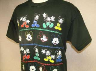 vtg DISNEY MICKEY MOUSE t shirt 80s L