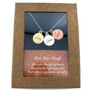 LIVE LAUGH LOVE ESSENCE OF LIFE INSPIRATIONAL REVERSIBLE