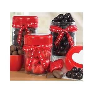 Valentines Day Candy Shop Jar Gift Set   Valentines Day Gift Basket