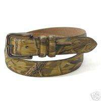 BELT Ducks Unlimited DU Advantage Wetlands Hunting Hunter Camo ~ Small