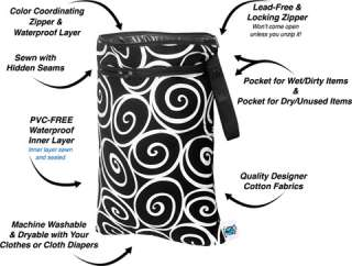 NEW Planet Wise Reusable Wet DRY Bags Diapers