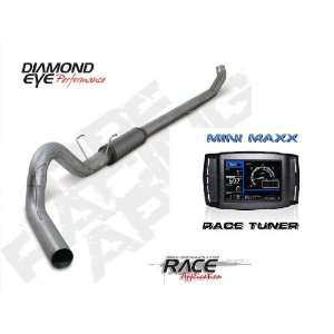 DPF Delete Kit Diamond Eye 5 Turbo Back Exhaust Stainless
