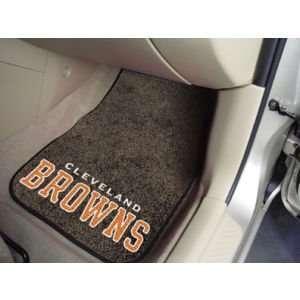 Cleveland Browns Car Mats Set/2