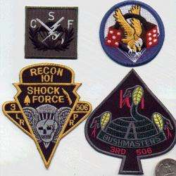 US ARMY 101 AIRBORNE PATCH 506 LRRP RECON VIETNAM IRAQ
