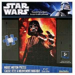 Star Wars Magic Motion Puzzle Darth Vader Toys & Games