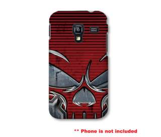 Red Skull Case for Samsung Galaxy Ace Plus S7500 Cover |