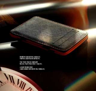 MAGIC MONEY CLIP Leather Wallet ID Bag Cash Holder Credit Card Cover