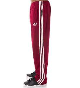 Adidas Originals FIREBIRD ADICOLOR CARDINAL WHITE Track Pants Bottoms